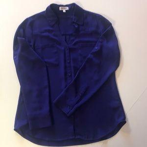 Express Purple Portofino Shirt